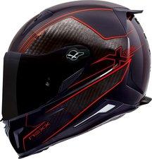 Nexx X.R2 Carbon pure schwarz/rot