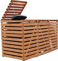 Promex Gartenideen Vario V 3 x 240 Liter honigbraun
