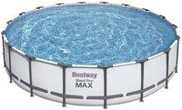 Bestway Steel Pro Frame Pool 549 x 122 cm mit Kartuschenfilter Komplett-Set (56462)