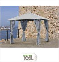 Grasekamp Pavillon Nizza 3x3m grau