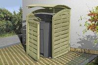 Delta Gartenholz Mülltonnenabtrennung 1 x 240 Liter