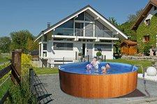 my pool Splash Woodstyle Pool-Set 460 x 90 cm mit Kartuschenfilter (42725)