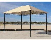 Grasekamp Stil-Pavillon 3x4m sand