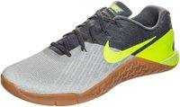 Nike Metcon 3 dark grey/pale grey/light bone/volt