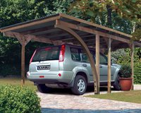 Karibu Einzel-Carport