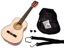 ts-ideen Kindergitarre Akustik Gitarre (Natur)