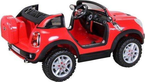 miweba sports kinder elektroauto bmw mini beachcomber xxl rot. Black Bedroom Furniture Sets. Home Design Ideas