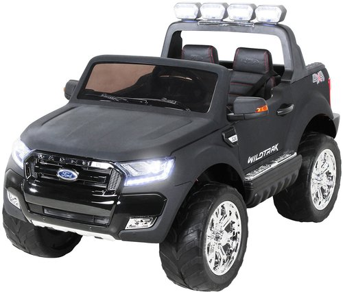 miweba sports kinder elektroauto ford ranger matt schwarz. Black Bedroom Furniture Sets. Home Design Ideas