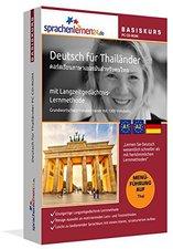 Sprachenlernen24.de Basiskurs: Deutsch für Thai...
