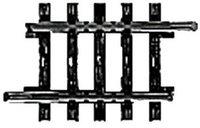 Märklin 2208 - Gleis ger. 35,1 mm (H0)