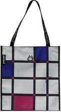 Rolser Shopping Bag Cuadro plata (SHB017)