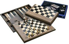 Philos Schach-Backgammon-Dame-Set (2525)