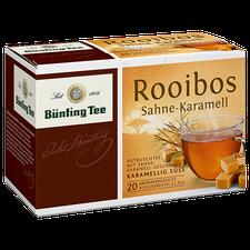 Bünting Rooibos Sahne-Karamell Teebeutel (25 Stück)