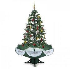 Schneiender Weihnachtsbaum