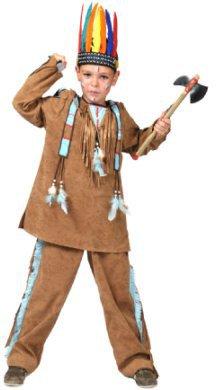 Indianer Karnevalskostüm