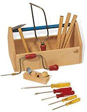 Pinolino 222317 Werkzeugkiste gefüllt