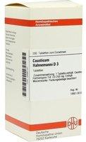 DHU Causticum Hahnemanni D 3 Tabletten (200 Stk.)