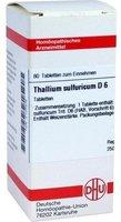 DHU Thallium Sulf. D 6 Tabletten (80 Stk.)