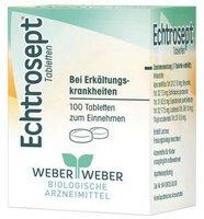 Weber & Weber Echtrosept Tabletten (100 Stk.)