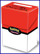 Amigo Pokemon Deck Box (rot/weiß)