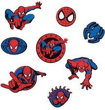 Decofun Spiderman The Amazing 24 Stück Miniwanddekoration (23869)