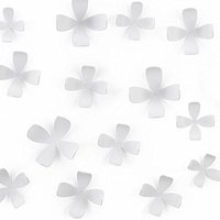 Umbra 470040-660 Wallflower 25-er Set weiss
