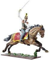 Schuco Österreichische Armee - Österreicher und braunes Pferd mit Säbel rechts