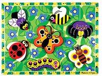 Melissa & Doug Holzpuzzle Insekten