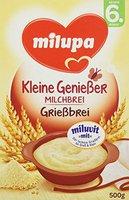 Milupa Miluvit Grießbrei mit Milch