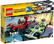 LEGO World Racers Rennen auf heißem Asphalt (8898)