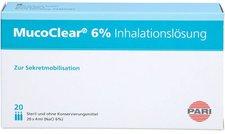 PARI Mucoclear 6% Nacl Inhalationsloesung (20X4ml)
