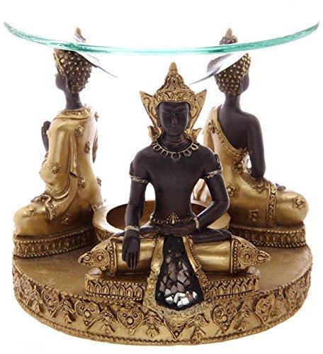 Glas Duftlampe