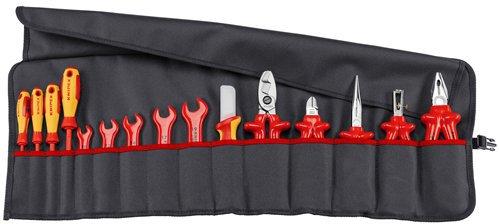 Knipex 98 99 13 Rolltasche (15-teilig)