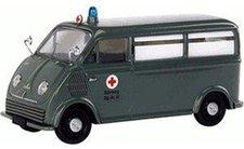 """Schuco DKW Schnellaster Bus  """"BRK """" (02486)"""