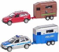 The Toy Company City Wheels - Auto mit Pferdeanhänger (50043)
