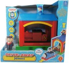 Golden Bear Thomas & seine Freunde: Drive Away Sprechender James & Lokschuppen (5536)