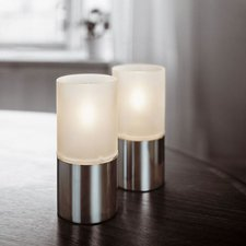 Stelton 1006 Öllampe mit satiniertem Glas