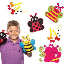 Schmetterling Handpuppe