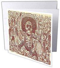Halloween 3D Skelett