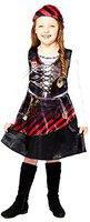 Piratenmädchen Kinderkostüm