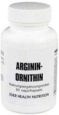 Eder Health Nutrition Arginin Ornithin Kapseln (PZN 8448728)