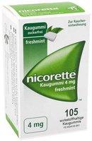 Pfizer Nicorette 4 Mg Freshmint Kaugummi (PZN 3643454)