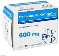 Hexal AG Methionin 500 mg Filmtabletten (PZN 2428127)