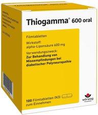 Wörwag Pharma Thiogamma 600 Oral Filmtabletten (PZN 4774626)