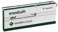 McNeil Imodium Akut Kapseln (6 Stück)