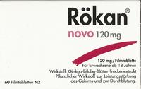 Spitzner Rökan Novo 120 mg Filmtabletten (60 Stück)