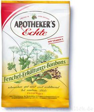 STADA Apothekers Echte Fenchel Erkältungsbonbons zuckerfrei (65 g)