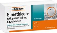 ratiopharm Simethicon Kautabl. (50 Stück)