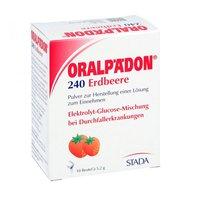 STADA Oralpaedon 240 Pulver Erdbeergeschmack Beutel N1 (10 Stück)