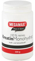 Megamax Kreatin Monohydrat 100% Megamax Pulver (500 g)
